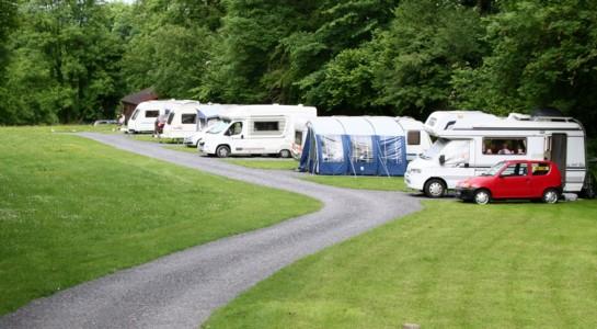Garnffrwd Caravan site